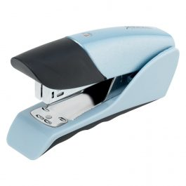 Rexel Gazelle Half Strip Metal Stapler Silver/Blue