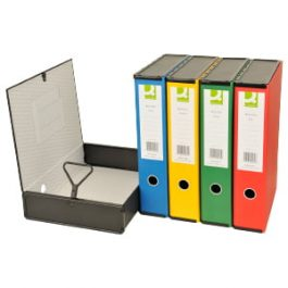 Q-Connect Coloured Box Files