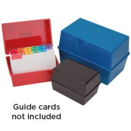 Q-Connect Card Index Box