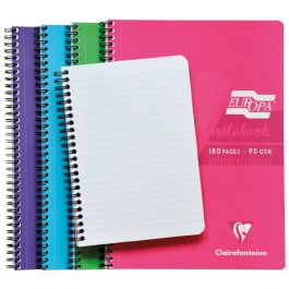Europa Spiral Notebook 180 Pages