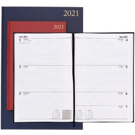 Diaries A5 & A4 Week To View 2021