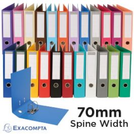 Exacompta Lever Arch Files A4 70mm Spine