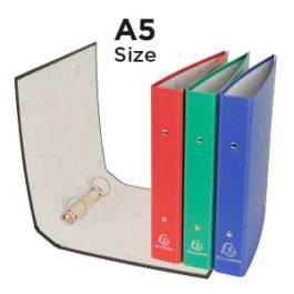 Exacompta 2-Ring Binders A5 Size