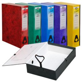 IXL Selecta Coloured Box Files Foolscap
