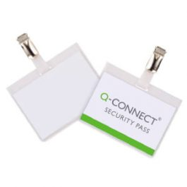 Q-Connect Conference Badges Security 60 x 90 mm Pk 25