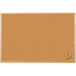 Bisilque Cork Board Pine-Framed