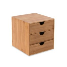 Osco Bamboo 3-Drawer Mini Chest