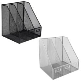 Osco Mesh Triple Magazine Rack