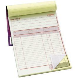 Pukka Sales Invoice Book 137 x 203 mm Duplicate 50 Sets