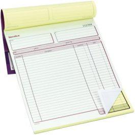 Pukka Sales Invoice Book 214 x 273 mm Duplicate 50 Sets