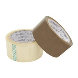 Q-Connect Parcel Tape 50mm x 60m