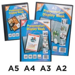 Tiger Presentation Display Books Black