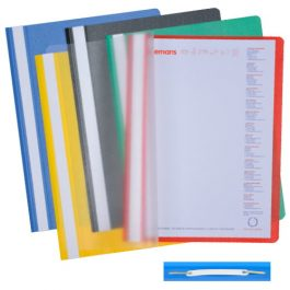 Tiger Project Folders Assorted Colours
