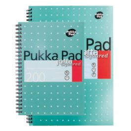 Pukka Jotta Spiral Book Squared 200 Pages
