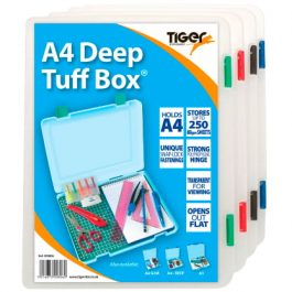 Tiger Tuff Boxes A4 250 Sheet Capacity