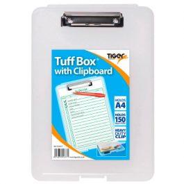 Tiger Tuff Box A4 With Clipboard