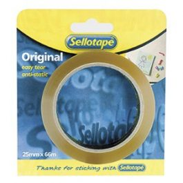 Sellotape Branded Adhesive Tape 24mm x 50m