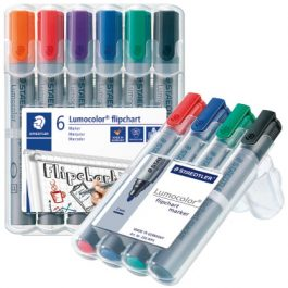 Staedtler Flipchart Markers Assorted Wallets