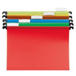Cathedral Polypropylene Suspension Files Assorted Colours