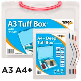 Tiger Tuff Boxes Deep With Carry Handles