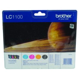Brother LC1100 Value Pack 4 Cartridges