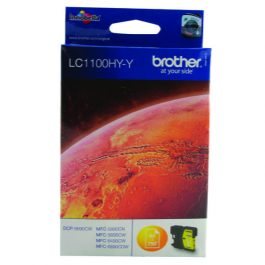 Brother LC1100 Yellow 5.5ml Ink Cartridge