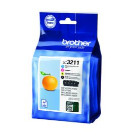 Brother LC3211 Value Pk 4 Cartridges