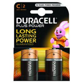 Duracell Plus Battery C Pk 2