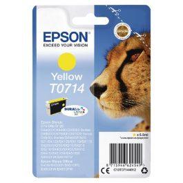 Epson Cheetah T0714 Yellow 5.5ml Cartridge