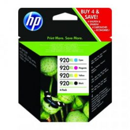 HP 920XL Combo BCMY Ink Cartridge