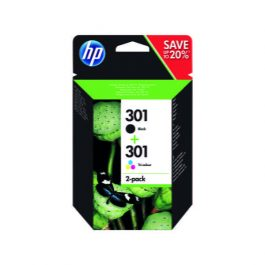 HP 301 Ink Cartridge Pk 2