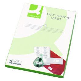 Q-Connect Multi-Purpose Printer Labels Pk 100