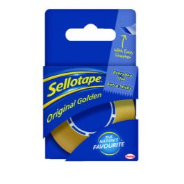 Sellotape Branded Adhesive Tape 18mm x 25m