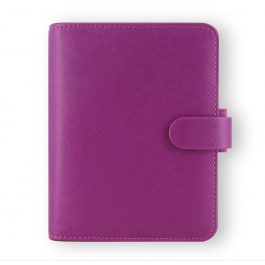 Filofax Pocket Saffiano Raspberry Organiser