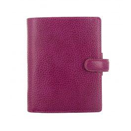 Filofax Pocket Finsbury Raspberry Organiser