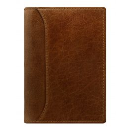 Filofax Pocket Slim Lockwood Cognac Organiser