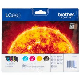 Brother LC980 Value Pack 4 Cartridges