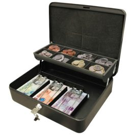 Cathedral Ultimate 12 Inch Cash Box Black