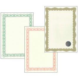 Certificate Paper A4