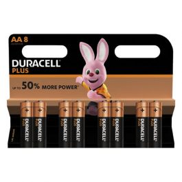 Duracell Plus AA Batteries Pk 8
