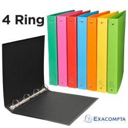 Iderama 4-Ring Binders A4 Size