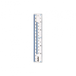 Helix 6 inch/15cm Clear Ruler