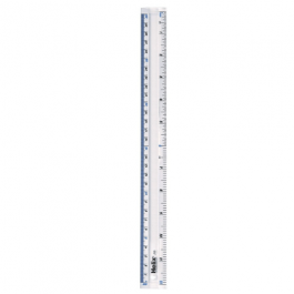 Helix 12 inch/30cm Clear Ruler