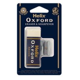 Helix Oxford Eraser & Sharpener Set