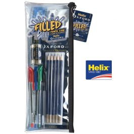Helix Oxford Filled Pencil Case