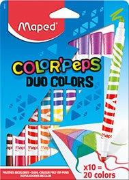 Maped Color Peps Duo Felt Pen Pk 10