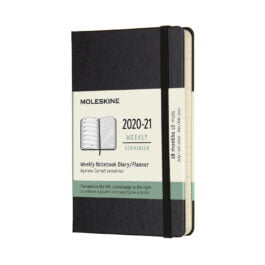 Moleskine 18 Month Weekly Notebook Pocket Hard Cover