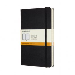 Moleskine Notebook Expanded Large Ruled Black