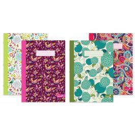 Silvine Marlene West Design Notebooks Summer Garden