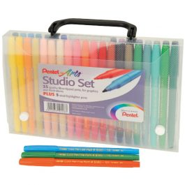Pentel Studio Set Pk 40